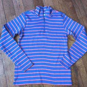 L.L Bean striped pullover